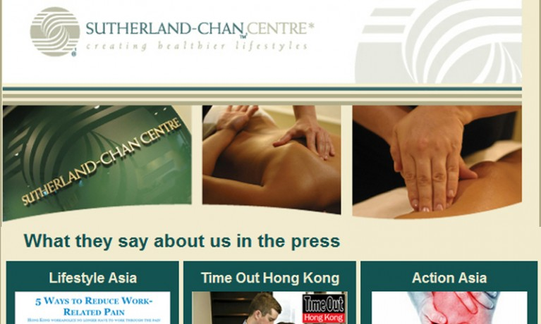 Sutherland Chan Centre – July 2012 – eNewsletter