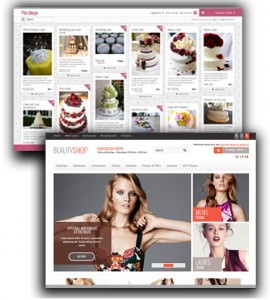 Wordpress shopping open cart themes