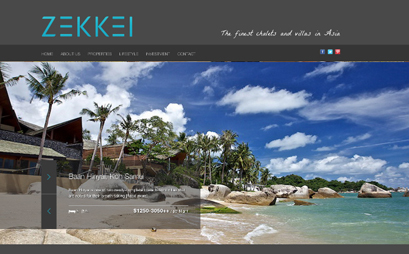 Zekkei Collection villas and ski homes rental