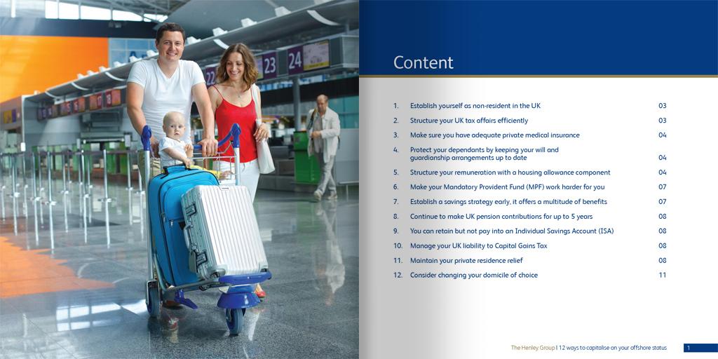 Henley Marketing Brochures