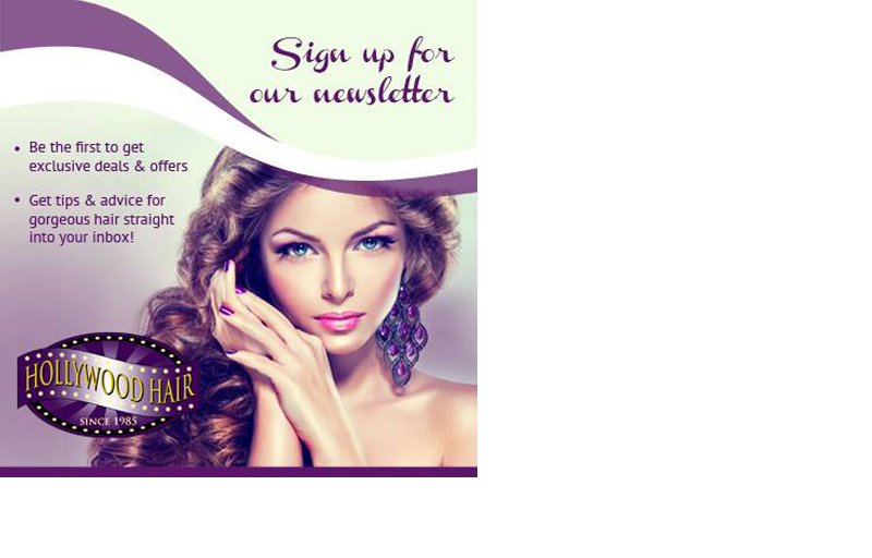 Hollywood Hair Promotions