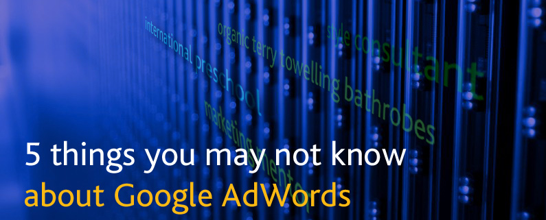 Google adwords blog